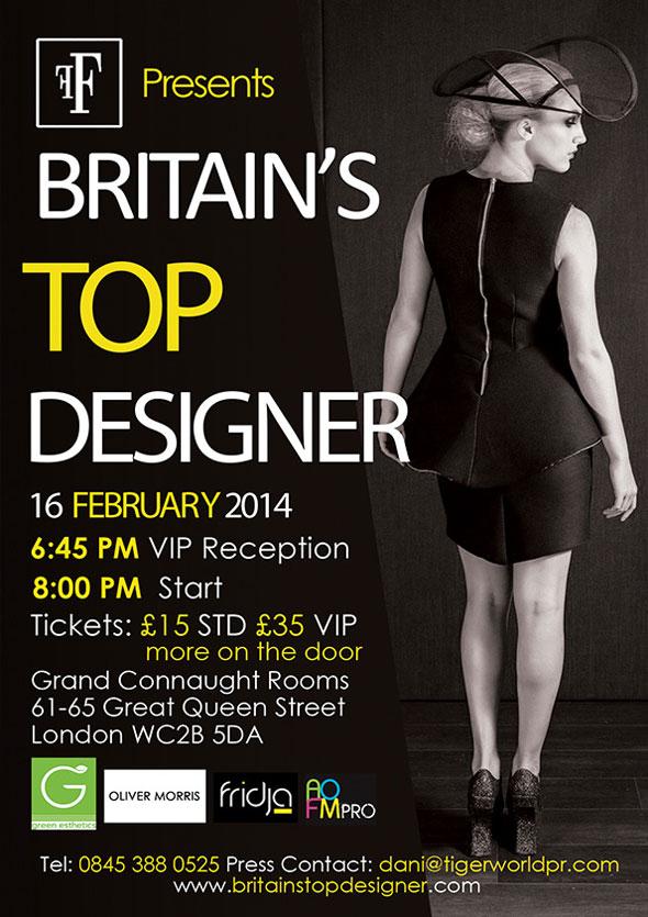 Britain's Top Designer